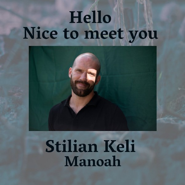 Photo shared by The light inside of you on June 19, 2021 tagging @stilian_almighty. May be an image of 1 person, beard and text that says 'Hello Nice to meet you Stilian Keli Manoah'.