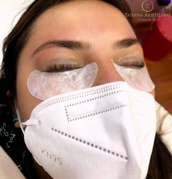 Photo by Tatiana Aristizabal   Spa in Bogotá, D.c.. May be an image of 1 person.