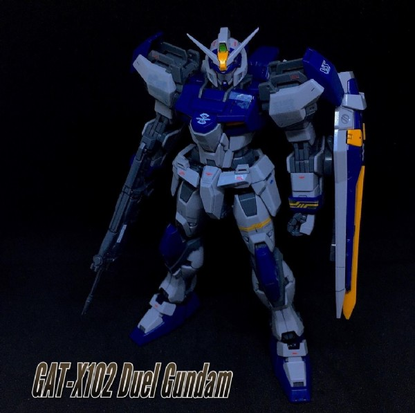 Photo by Raymund Torres on May 19, 2021. May be an image of text that says '4 GAT GAT-X102 Duel Gundam'.