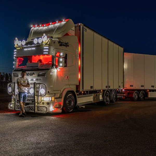 Photo by Magnus   Trucker Scania on June 20, 2021.