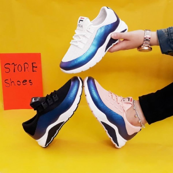 Photo by The Wave Group (مجموعة الموج) on August 24, 2020. May be an image of text that says 'FILA STORE Shoes S'.