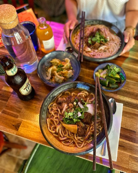 Photo shared by TopParisResto on June 11, 2021 tagging @patrickcolpron, and @trantranzai. May be an image of food and indoor.