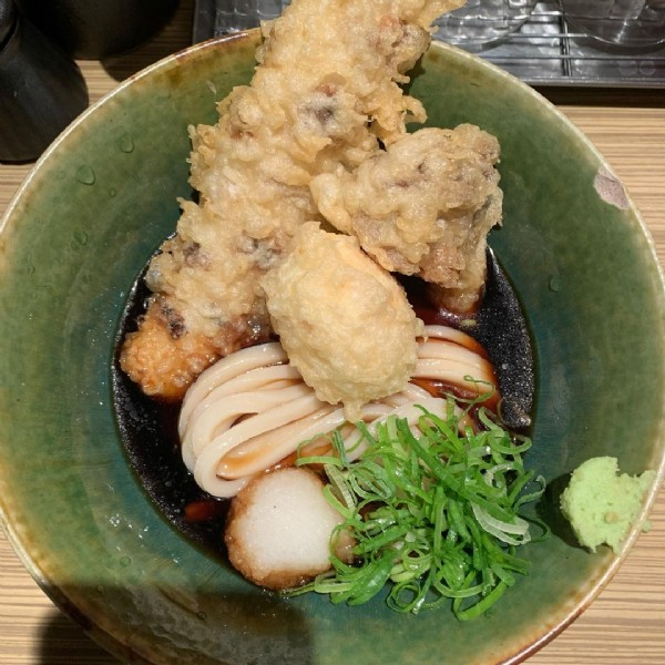 Photo by m. in 本町製麺所. May be an image of food and indoor.