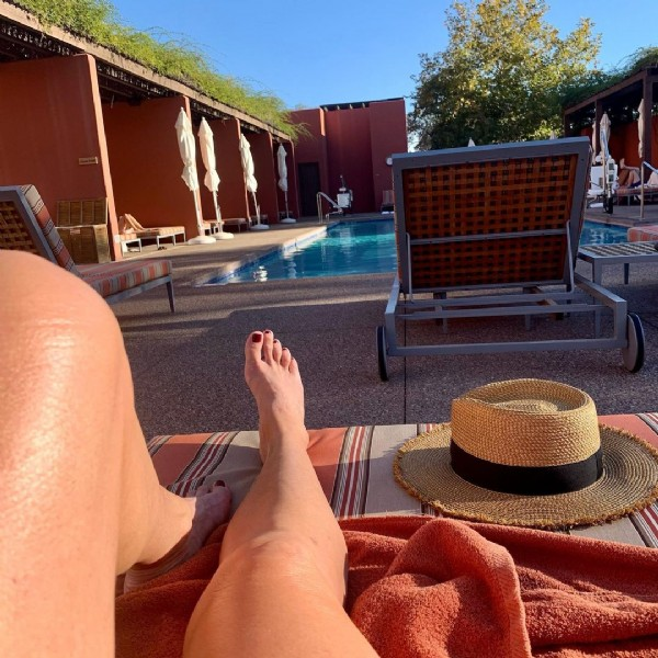 Photo by kcl1313 on November 01, 2020. May be an image of one or more people, pool and outdoors.