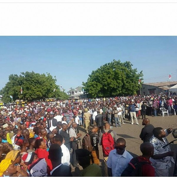 Photo by Salum Mwalim on January 27, 2018. May be an image of one or more people, people standing and crowd.