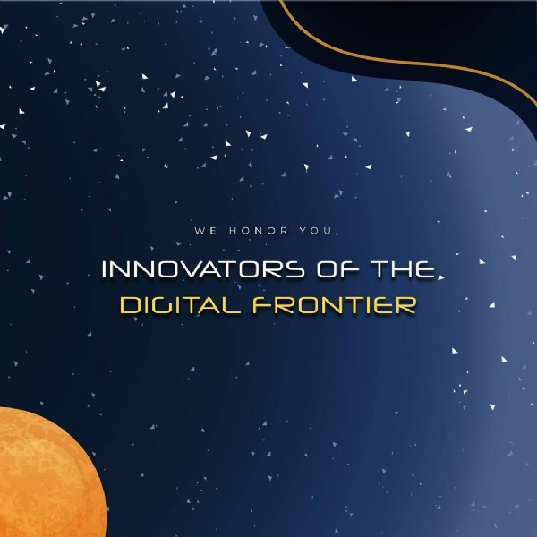 Photo shared by Vega Student Awards on May 27, 2021 tagging @iaaawards, @musedotworld, and @vegaawards. May be an image of text that says 'WE HONOR YOU, INNOVATORS OF THE DIGITAL FRONTIER'.