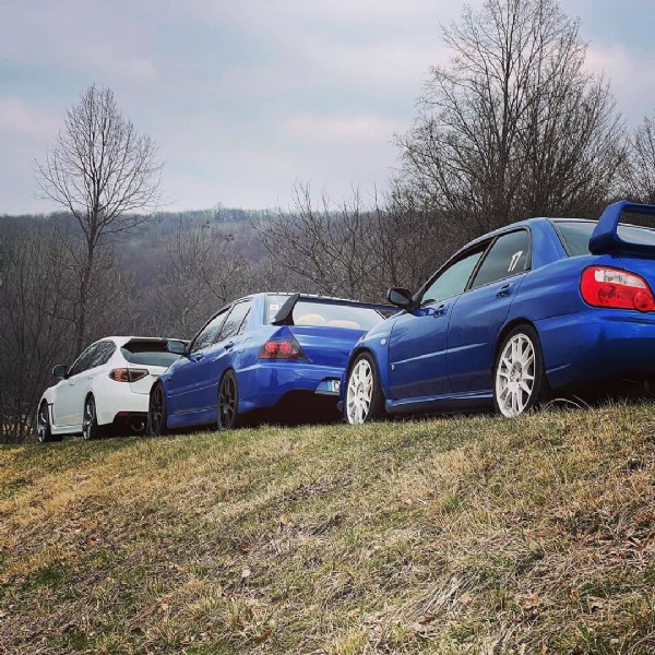 Photo shared by evo и sti on June 22, 2021 tagging @mauri__93__, and @matteoperosa. May be an image of car and outdoors.