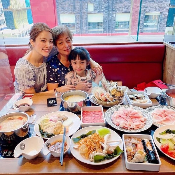 Photo shared by Kaylie on August 02, 2021 tagging @gyujin_wagyu, @annie_littlecake, and @maggiewongw. May be an image of 3 people, food and indoor.