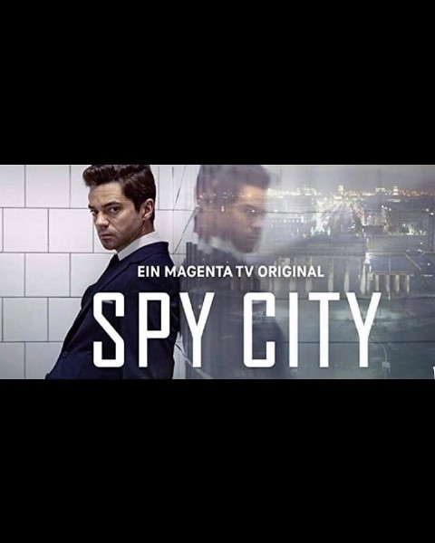 Photo by Falcon Kuwait on August 02, 2021. May be an image of 2 people and text that says 'EIN MAGENTA TV ORIGINAL SPY CITY'.