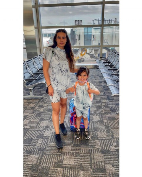 Photo shared by Marie Alkasmikha on June 19, 2021 tagging @fashionnova, and @novakids. May be an image of 2 people, child, people standing, people sitting, footwear and indoor.