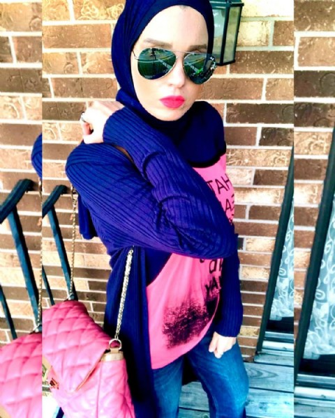 Photo by sarahaboKarim    سارة أبو كريم on July 12, 2021. May be an image of 1 person, standing, sunglasses, outdoors and brick wall.