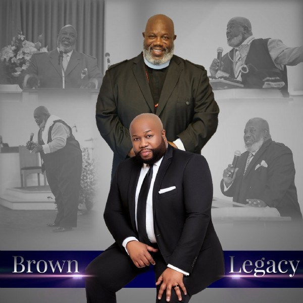Photo by Jonathan Brown on June 20, 2021. May be an image of 4 people and text that says 'Brown Legacy'.
