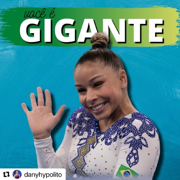 Photo by ARTIUM on August 03, 2021. May be an image of 1 person and text that says 'vocêé GIGANTE NTE t danyhypolito'.
