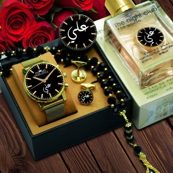 Photo by هدايا واقمشه رجاليه شتويه on August 02, 2021. May be an image of wrist watch.