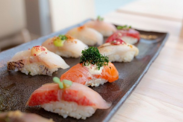 Photo by OKO Rye on June 18, 2021. May be an image of sashimi.