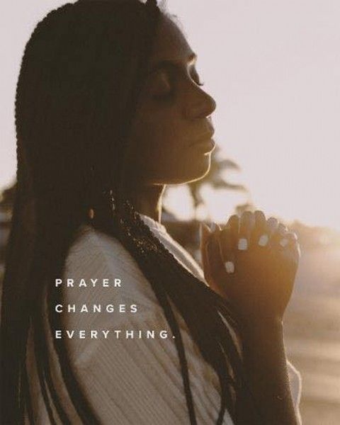 Photo by Greater Grace Church in Greater Grace Church - Ferguson, MO. May be an image of one or more people and text that says 'PRAYER CHANGES EVERYTHING.'.