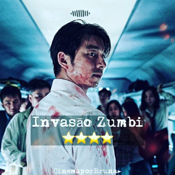 Photo by  Dicas de Filmes Series Doc  on June 23, 2021. May be an image of 4 people, people standing and text that says 'Invasão Zumbi Cin ema or Bruna'.