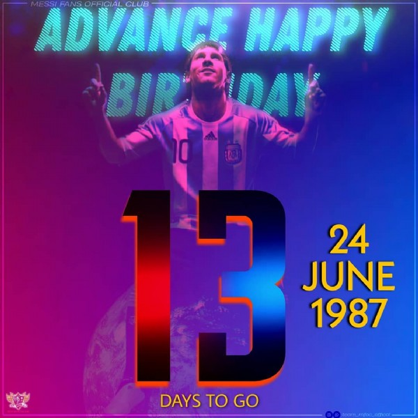 Photo by Mfoc on June 10, 2021. May be an image of 2 people and text that says 'ADVANCE CLUB HAPPY BIR DAY 3 24 JUNE 1987 DAYS DAYSTOO TO GO'.