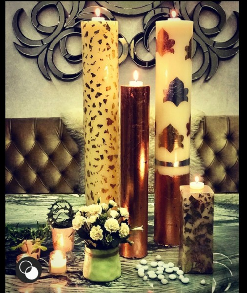 Photo by kanika | Scented candles on September 21, 2021. May be an image of candle and indoor.