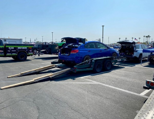 Photo by @scottys16sti in Irwindale Speedway. May be an image of outdoors.