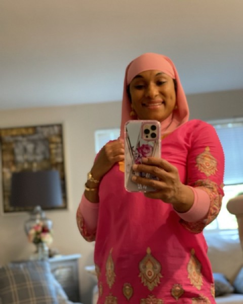 Photo by Hajjah Tameka Abdur Rahman on July 30, 2021. May be an image of 1 person, standing and indoor.
