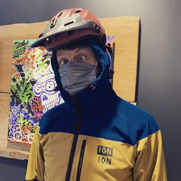 Photo by Stride Indoor Bike Park on May 25, 2021. May be an image of indoor and text that says 'ION ION'.