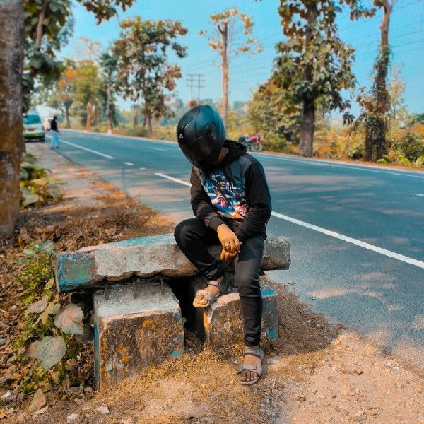 Photo by RÎK SÂRKÂR  on June 05, 2021. May be an image of one or more people, people sitting, motorcycle and road.