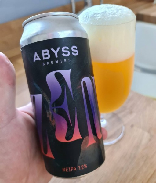 Photo shared by the beer pleb on July 31, 2021 tagging @abyssbrewing. May be an image of drink.