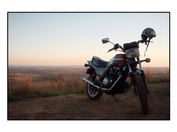 Photo by   -  in Morro do Cristo - Senador Canedo with @hondamotosbr, @xseriesbrasil, and @mid_west_cult. May be an image of motorcycle and nature.